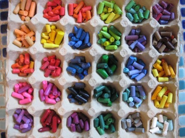 Reciclar DYP clasificador de crayolas